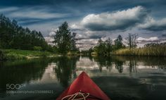 Kayaking the Spree by Claudio_DeSat Nature Photography #InfluentialLime