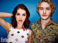 Adelaide Kane and Toby Regbo, Reign. See more stunning star portraits from our photo studio at San Diego Comic-Con 2014 here: http://www.ew.com/ew/gallery/0,,20399642_20837117,00.html