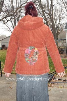 c8bab603574 Grateful Dead SYF Corduroy Jacket Bolts on by gr8fuldreadgrrl Corduroy  Jacket