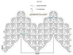 Punctul de crosetat al saptamanii 10: Model scoica in zig-zag   ByKaterina