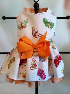Super Sweet Multicolored Butterfly & Orange by princessamee, $42.00