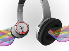 The Flips Audio HD Headphones are powerful headphones that transform into powerful amplified speakers with just a flip of the headphones ear cups.