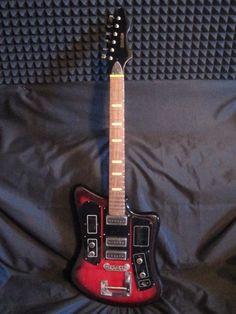 Formanta 241 BL RARE Soviet Vintage Electric Guitar USSR