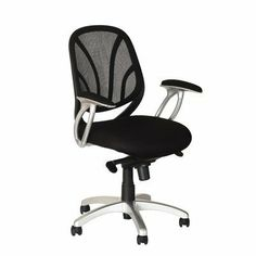 Sharper Image RTA-SI0518-BK Mesh Back Ergonomic Office Chair, by Sharper Image. $119.99. Color:Black   Breathable mesh back  Contoured soft cushion mesh fabric seat  Padded armrest with mesh fabric  Double action mechanism with 5-position tilt locking & height adjustable functions  Powdered coated finish on armrest and 5 star nylon base. Save 20%!