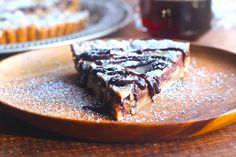Cannoli Tart! Oh man! I am so making this tomorrow afternoon! Looks delicious...plus it has Amaretto...nmmmmm.