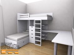 Small Room Design, Bed Design, Kids Bedroom Furniture, Bedroom Decor, Bunk Beds For Boys Room, E Room, Bedroom Cabinets, My New Room, Girl Room