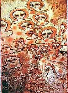 The Ancient Aliens - Alien Art - Wandjina Petroglyphs