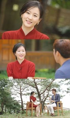 Lee Young Ae's dress