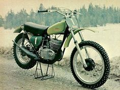 1972- Kawasaki 250cc works bike of Olle Pettersson