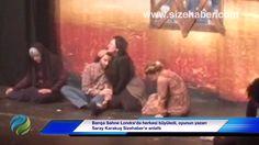 Barışa Sahne Londra'da herkesi büyüledi, oyunun yazarı Saray Karakuş Sizehaber'e anlattı
