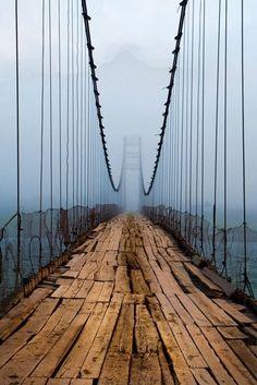 blog2collectionsanfavs: Northern Ireland Plank Bridge, Cascille (not me!)