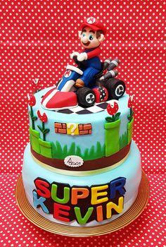 Mario kart cake pasticceria Dece via calefati 93 Bari