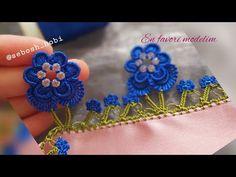 🌺Fıstıklı menekşe oyası (📢ilk kez göreceksiniz) - YouTube Saree Kuchu Designs, Saree Tassels, Crochet Videos, Baby Knitting Patterns, Crochet Necklace, Make It Yourself, Flowers, Accessories, Jewelry