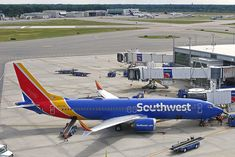 Boeing Aircraft, Passenger Aircraft, Reverse Thrust, Providence Rhode Island, Air Photo, Drink Photo, Southwest Airlines, Air Lines, Jets