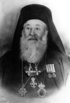 """When the Nazis landed on the island, the mayor went to the local church leader, Metropolitan Dimitrios Chrysostomos for assistance. He volunteered to negotiate with the Germans and told the mayor to burn the list of the island's 275 Jews. He implored the German commander not to deport the Jews. When the German insisted on a list,  Chrysostomos took a piece of paper, wrote his own name on it and handed it over. """"Here is the list of Jews you require."""" Righteous Among the Nations."""