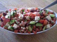 Recette Salade de Légumineuses à la Grecque