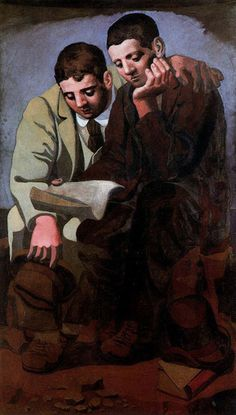 Pablo Picasso: The Reading of the Letter, 1921