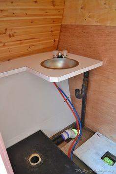 Remodel of 1972 Frolic camper bathroom