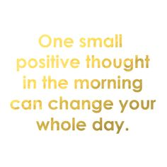 """""""One small positive thought in the morning can change your whole day"""" #DuplicataParis"""