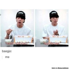 Jin loves his food as do I :3 xd marry meee!!!