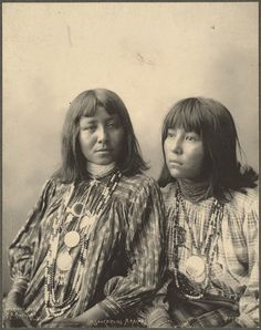 Brushing Against, Little Squint Eyes, San Carlos Apaches, 1898. Frank A. Rinehart, (Antique photo of Native American)