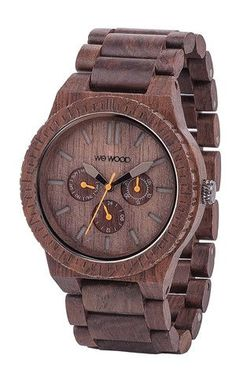 COol Wooden Watches - KAPPA CHOCOLATE | WeWOOD Wooden Watches made from 100% natural wood!  - Who Wooden? Who Wouldn't!