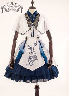 LolitaWardtobe - Bring You the latest Lolita dresses, coats, shoes, bags etc from Trustworthy Taobao indie Brands. We never resell Lolita items from untrustworthy Taobao stores. Modest Dresses, Cute Dresses, Cool Outfits, Fashion Outfits, Jumper Dress, Lolita Dress, Indie Brands, Lolita Fashion, Steampunk Fashion
