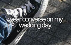 So doing this! Or no shoes (;