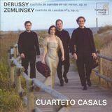 Debussy: Cuarteto de cuerdas en sol menor, Op. 10; Zemlinsky: Cuarteto de cuerdas No. 2, Op. 15 [CD]