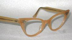Vintage cat-eye glasses!