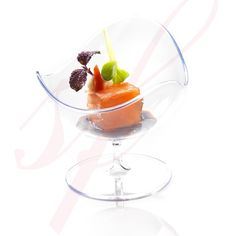 Sweet Flavor Disposable Plastic Ball Chair Clear