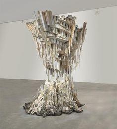 View Self Melt by Diana Al-Hadid on artnet. Browse more artworks Diana Al-Hadid from Saatchi Gallery. Saatchi Gallery, Art Plastique, Installation Art, Art Installations, Islamic Art, American Artists, Sculpture Art, Metal Sculptures, Abstract Sculpture