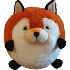 How adorable is this round fox? Maybe I need to think about crocheting some impossibly round critters.....