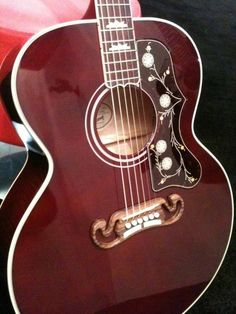 Beautiful Gibson guitar