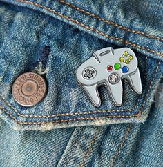 A pin, for the best gaming console EVER.