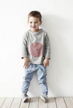 Pale Blue Pull on Little Boy Fashion, Kids Fashion, Toddler Fashion, Little Man Style, Harem Jeans, Kid Swag, Boys Wear, Zara Kids, Stylish Kids