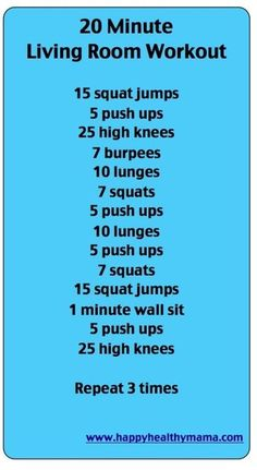 Sub: 5 for 10 pushups, 25 high knees for 1 min plank (my downstairs neighbors would kill me), 10 for 20 lunges, 7 for 10 squats.