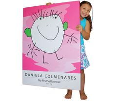 Your kids' artwork transformed and printed on canvas and posters. A personal way to decorate your kids' room and preserve your kids' artistic talents. ilovemykidsart.com