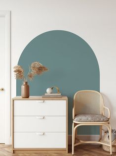 Arch Wall Decal Arch Colour Block Wall Decal Large Arch   Etsy