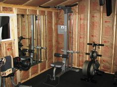 1000 images about shed conversion ideas  gym on
