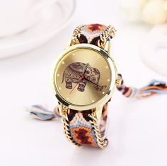 Elephant Knit Watch