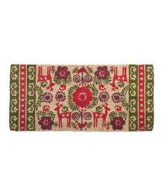 Love this Nordic Holiday Estate Doormat on #zulily! #zulilyfinds
