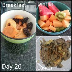 dag 20 Diet Recipes, Recipies, Healthy Recipes, Diet Meals, Healthy Food, 28 Dae Dieet, Dieet Plan, Breakfast For Dinner, Healthier You