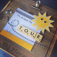 Bij Margriet Creatief; Stampin' Up!, SU, Garden in Bloom, Ray of Sunshine, Tour de France, Project Life, Bakers Twine