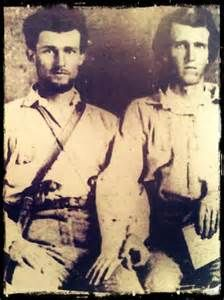 "William L. & Thomas H. Langley  The Langley brothers joined the ""Marshall Guards"" in Harrison County, Texas on May 28th, 1861. The Guards later became Co. E, 1st Texas Inf."