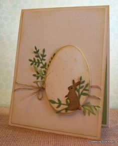 Bunny finds the speckled egg! by Boss - Cards and Paper Crafts at Splitcoaststampers Easter Greeting Cards, Greeting Cards Handmade, Diy Wedding Shoes, Paper Cube, Memory Box Cards, Religious Symbols, Easter Parade, Egg Shape, Yard Sale