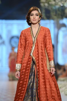 39dcd03b8ad9 Nida Azwer Bridal Collection at PBCW 14 Day 3 · Latest Pakistani FashionIndian  ...
