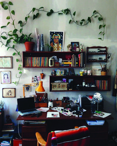 Small office: 10 large concept ideas Stunning Ideas for a small home office room exclusive on homest My New Room, My Room, Small Room Design, Aesthetic Room Decor, Dream Rooms, Vintage Home Decor, Vintage Office, House Rooms, Bedroom Decor