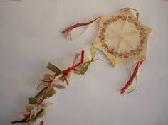 χειροποιητα γουρια - Google Search Baptism Gifts, Felt Patterns, Air Dry Clay, Hand Painted Ceramics, Lucky Charm, Ceramic Painting, Kite, Home Gifts, Christmas Time