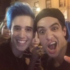 For a second franks forehead looked like the earth but then I remembered Brendon's looks like the sun